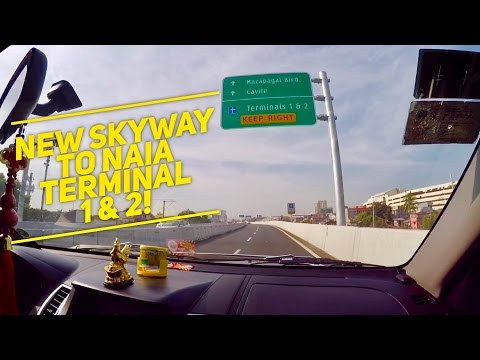 NAIA Expressway to NAIA Terminal 1 and 2 Now Open! by HourPhilippines.com
