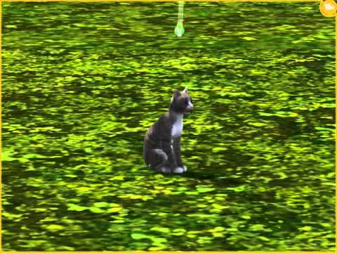 Sims 3 Pets - Cat Fleas!