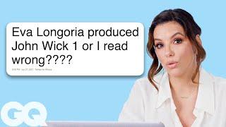 Eva Longoria Goes Undercover on Reddit, YouTube and Twitter   GQ