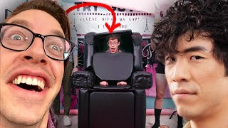 Keith Transforms Into Eugene's Worst Nightmare (A Chair)