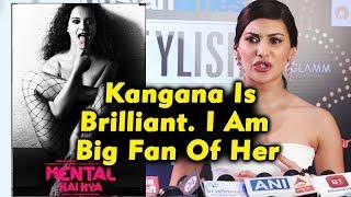 Amyra Dastur On Working With Kangana Ranaut In Mental Hai Kya