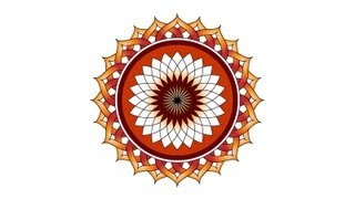 Create A Vector Lotus Flower Illustrator Tutorial