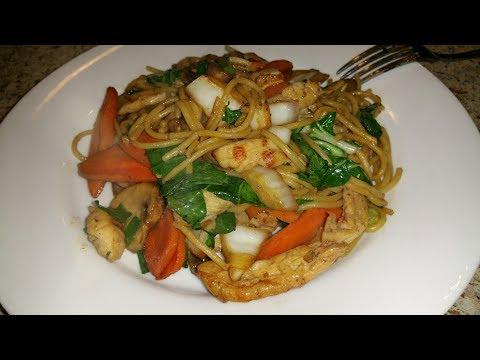 Cinco De Mayo Chicken Lo Mein Recipe - Cindys Kitchen