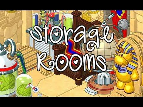 Webkinz Storage Rooms / Dressing Rooms, etc