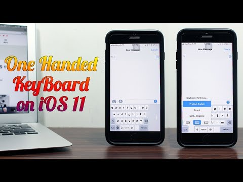 How to Use One-Handed Keyboard Mode in iOS 11 on iPhone