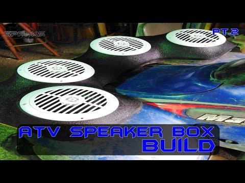 ATV SPEAKER BOX BUILD | Part 2 | POLARIS | Garage Edition Episode 15