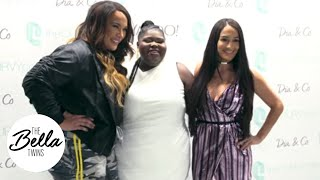 Nikki and Nia Jax talk fashion with Oscar-nominated actress Gabourey Sidibe!