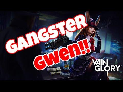 Vainglory - GANGSTER GWEN NEW SKIN!!