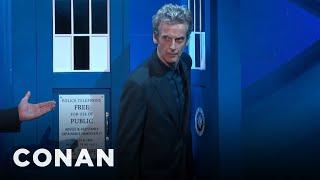 Peter Capaldi's Amazing TARDIS Entrance  - CONAN on TBS
