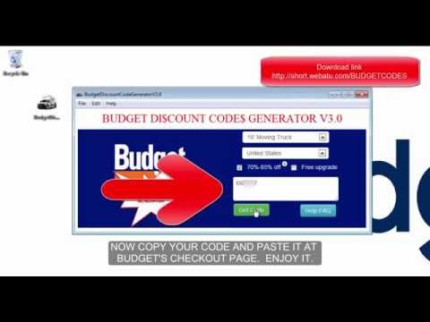 Budget Coupons and Discounts | BUDG3TC0UP0N5