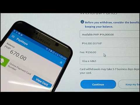 HOW TO WITHDRAW PAYPAL TO PAYMAYA INSTANT 2017