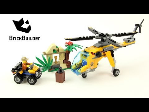 Lego City 60158 Jungle Cargo Helicopter - Lego Speed Build