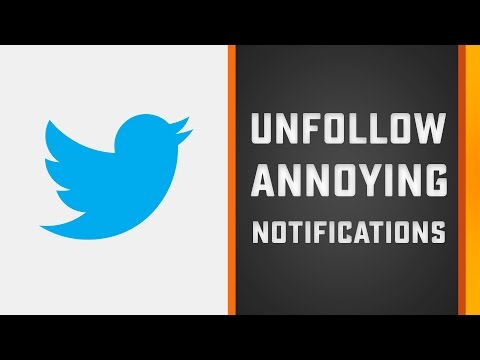 Stop Annoying Twitter Notifications (Favorites) in 2 Minutes