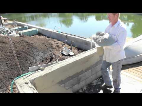 How to skim coat cement plaster or render plaster over cinder block walls