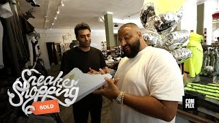 DJ Khaled goes Sneaker Shopping With Complex