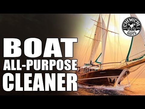 How To Clean Boat Vinyl Seats - Chemical Guys Boat Cleaner - Marine and Watercraft
