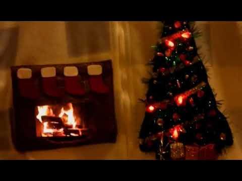 Fireplace Screensaver Ugly Sweater