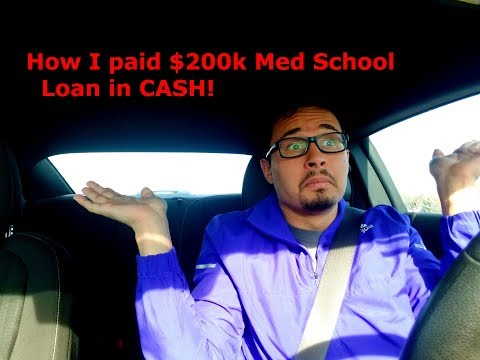 HPSP: How I paid a $200k college loan in CASH!