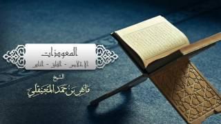 آيات بصوت الشيخ ماهر المعيقلي