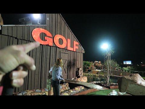 A Small Crazy Florida Storm, Fun Mini Golf & Cici's Pizza!