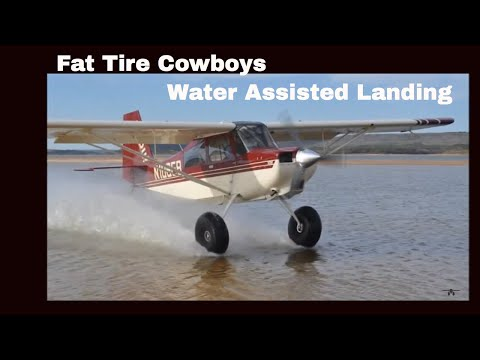 American Champion Super Cub Carbon Cub Water Assisted Landing Bush Flying