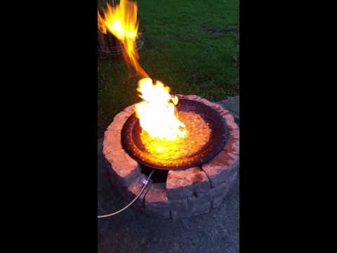 Water Fire Pit