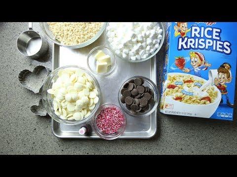 Valentine's Day Rice Krispies Treat | Easy Valentine's Day Treat