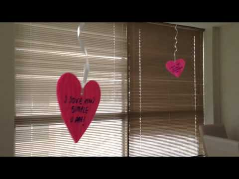 Valentine's Day home decor to surprise my husband