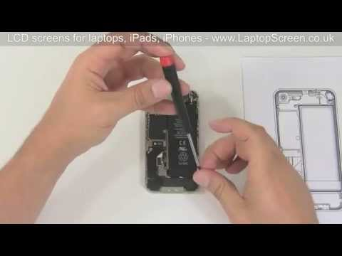 iPhone 4S screen repair. How to replace iPhone 4s digitizer.