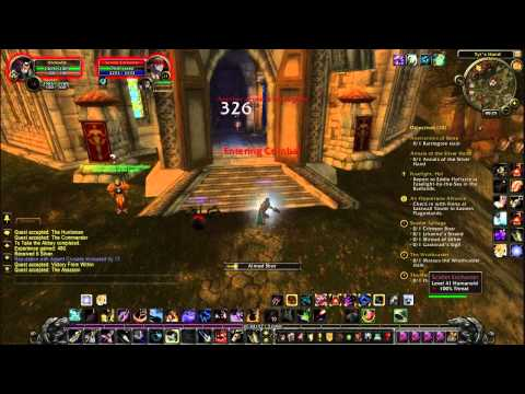 Let's Play World Of Warcraft Part28 Eastern Plaguelands Undead Scarlet Crusade