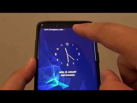 Samsung Galaxy S9: How to Change Lock Screen Clock Style