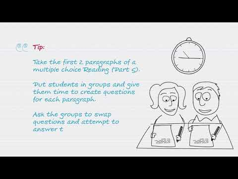 Teaching Tip #3: C1 Advanced / C2 Proficiency Reading and Use of English