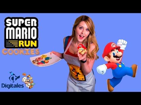 Nintendo Super Mario Run Cookie Baking and Decorating