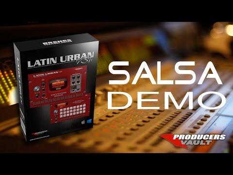 Salsa Demo Latin Urban VSTi Sobredosis titanes Cover