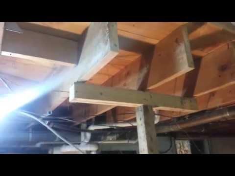 Floor joist replacement part 1