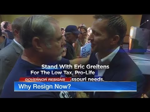 Why did Greitens decide to step down now? Legal expert talks