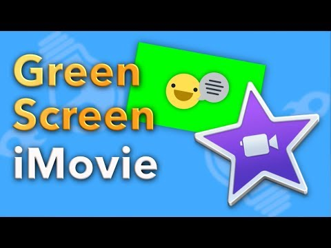 How to Green Screen on iMovie (2018)
