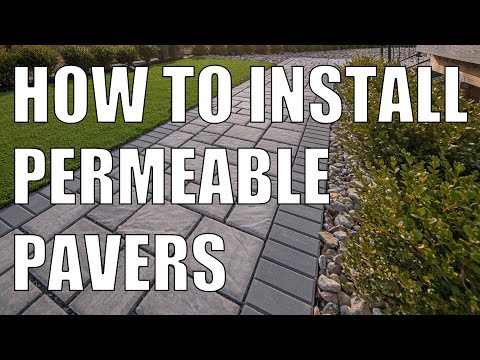 ECO Pavers Permeable Pavers Installation Essentials