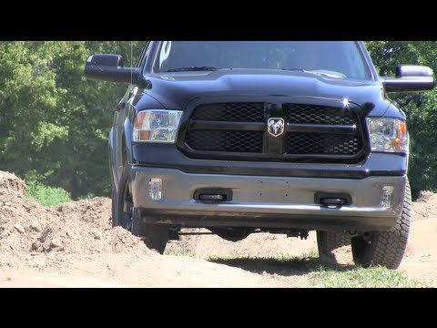 Quick Take: 2013 Ram 1500 Pickup Air Suspension Explained