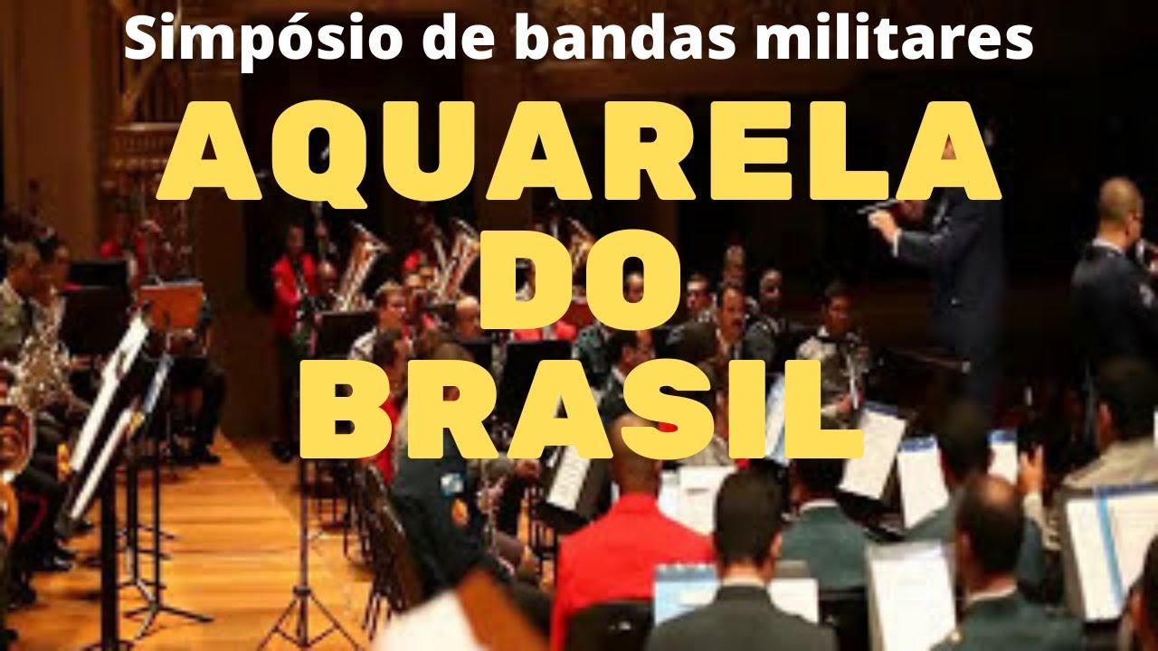 Aquarela do Brasil - Leopoldino Trompete (SIMPÓSIO DE BANDAS MILITARES)