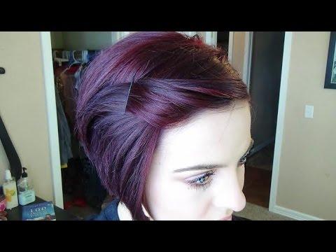 How I Maintain my Burgundy Plum Hair Color