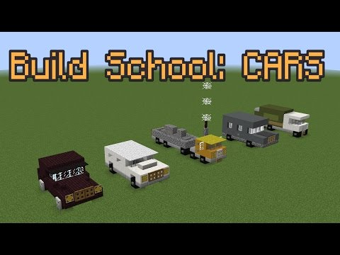 Minecraft Build School: Cars!