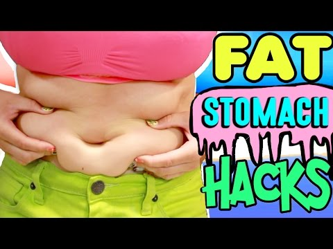 10 Fat Stomach Life Hacks! | How To Hide A Fat Stomach For Summer! | Cure Tummy Fungus And Odor!