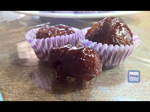 Marron Glacès recipe   How to make candied chestnuts   Receta   Video Recipe in English