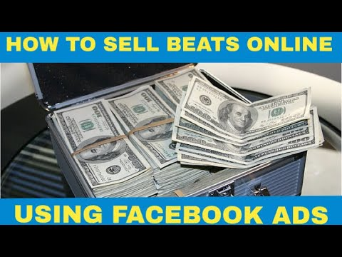 How to Sell Beats Online In 2018 - Facebook Ads For Producers - Target Rappers With 💰