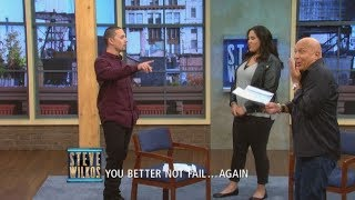 """""""What Are You Going To Do With The Chair!?"""" (The Steve Wilkos Show)"""
