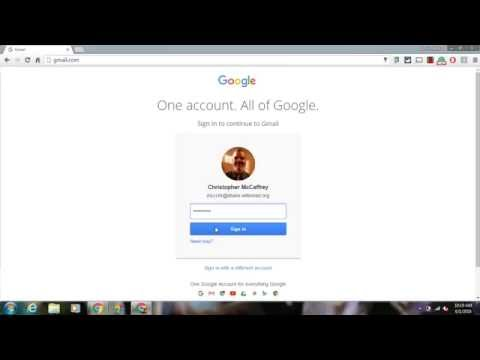 Desktop Shortcut to Gmail