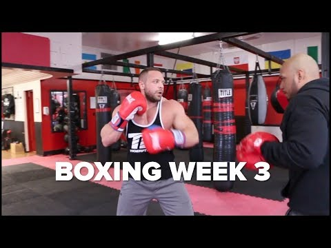 One Step Closer to My First Amateur Fight - Week 3