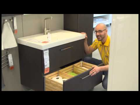 GODMORGON Sink Cabinet - IKEA Home Tour