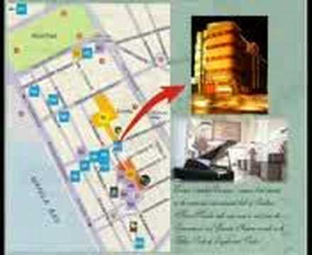 Invitation Reception Locator Map